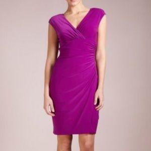 Lauren Ralph Lauren Adara Capped Sleeve Dress Sz 4